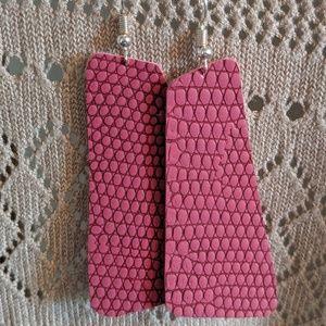 Mauve/ Pink Earrings